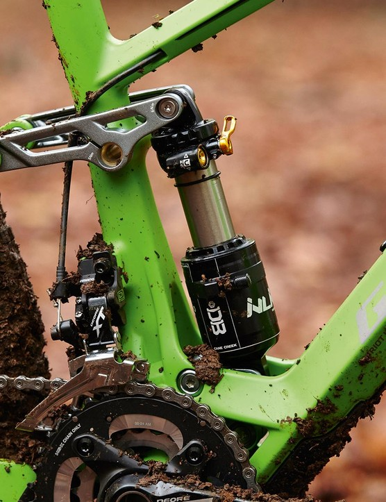 The Cane Creek DBInline shock rewards careful tuning with top-end performance