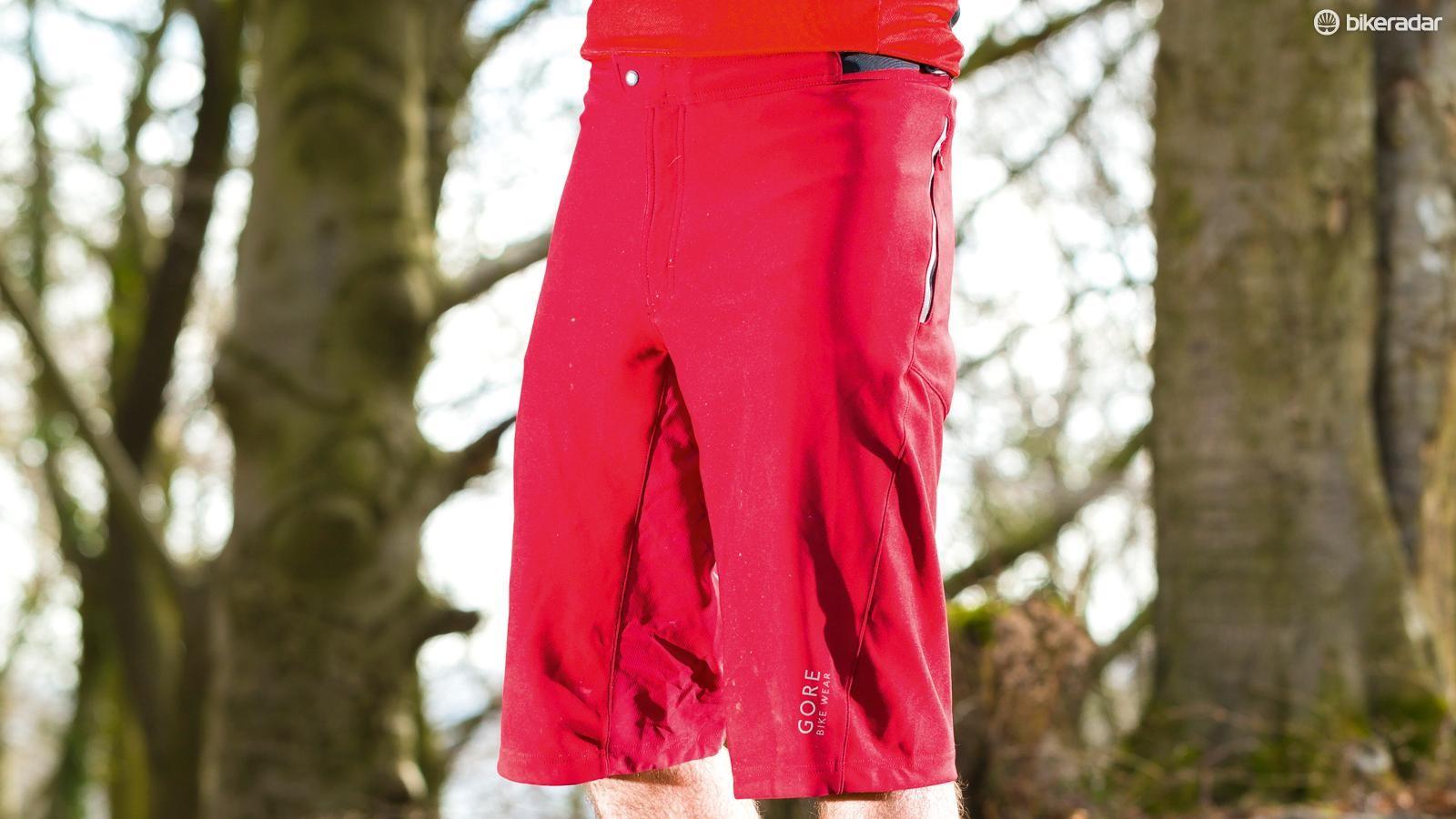 Gore Alp-X Windstopper Soft Shell shorts