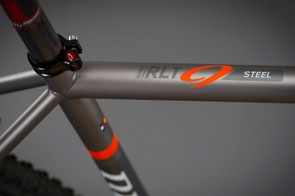 The RLT9 Steel is constructed from Reynolds 853 tubing