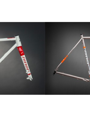 The RLT 9 Steel comes in forge grey/hunter safety orange as well as 'dirty white'/red colorways