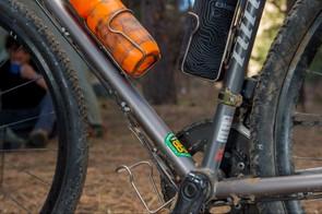 Niner gave RLT 9 Steel riders plenty of water bottle options