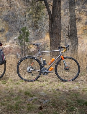 The RLT9 Steel has ample eyelets for racks, fenders and panniers