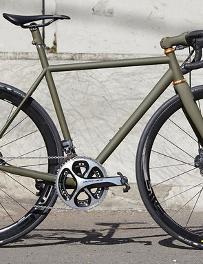 Speedvagen framesets come in stock or custom, with the latter shipping in 8-12 weeks