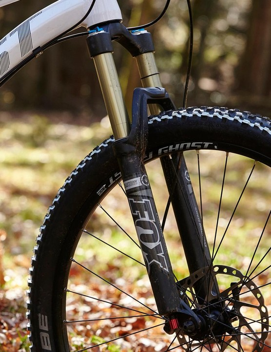 It's unusual to see a pair of Fox CTD shocks at this price, but a shame that Ghost couldn't spec the fork with a 15mm axle