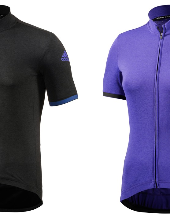 The jersey is available in black with purple detailing, purple with black accents...