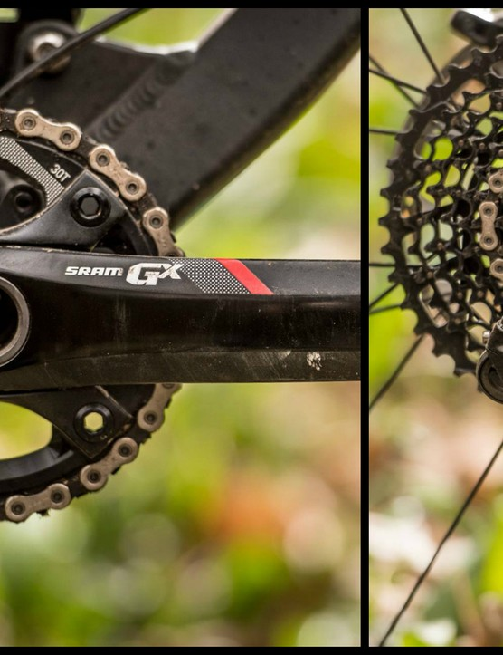 SRAM's new GX groupset trickles down technology from its XX1, X01 and X1 dedicated 1x drivetrains