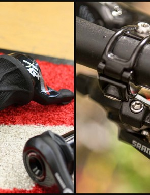 SRAM GX is available with a trigger or gripshift