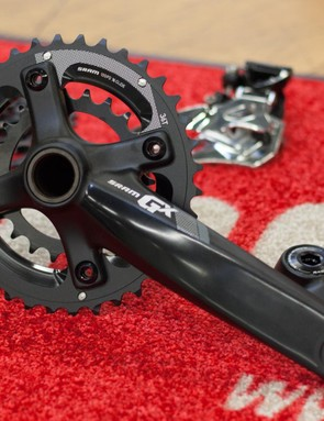SRAM GX is also available in a 2x10 option