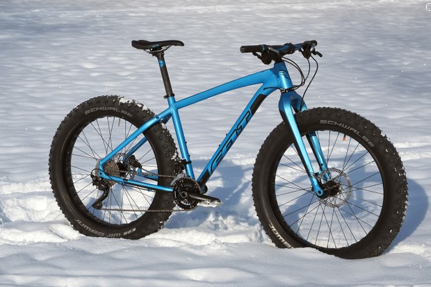 The Felt Double Double 30 ticks nearly all the right boxes for a reasonably priced fat bike - for all seasons, not just winter