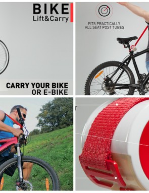 Cyclists aren't known for their lifting prowess – but do we really need a strap to carry a bike?