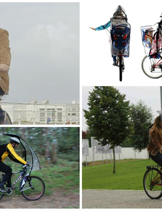 We all hate getting stuck in the rain out riding, but is this really the best solution?