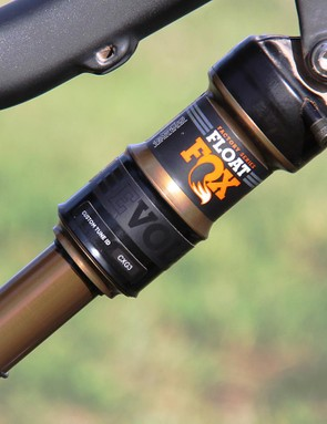 The new remote-actuated version of the Fox Float DPS shock