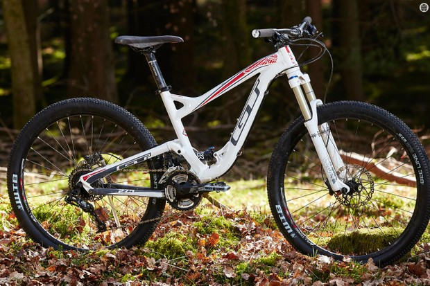 There's nothing wrong with the GT's geometry – on a cross-country race bike. The trouble is, that's not what the Sensor Comp is