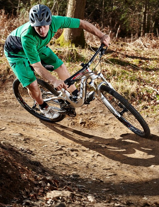 …which is a shame, because this chassis is well capable of being ridden hard and fast on harsh terrain