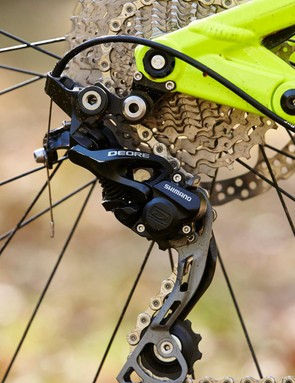Shimano Deore shifting performs as well as ever