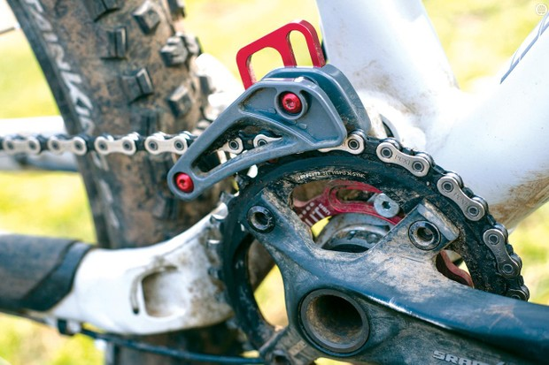Gamut's Trail SXC chain guide is light but effective at its job