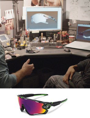 Oakley worked with Mark Cavendish to develop the new Jawbreaker sunglasses