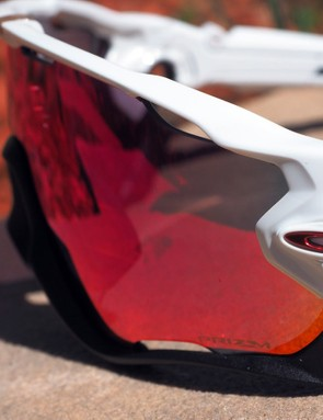 Compared with the Radarlock and Jawbone, the new Oakley Jawbreaker wraps further around the sides of your head