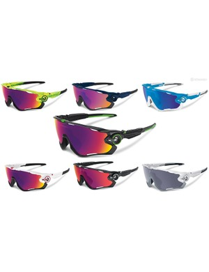 Oakley will offer the new Jawbreaker in seven different colorways to start - although given all the small pieces used, fully custom versions are virtually guaranteed to be coming soon