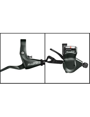 Tiagra 4700 will have a flat-bar shifter and brake lever option too