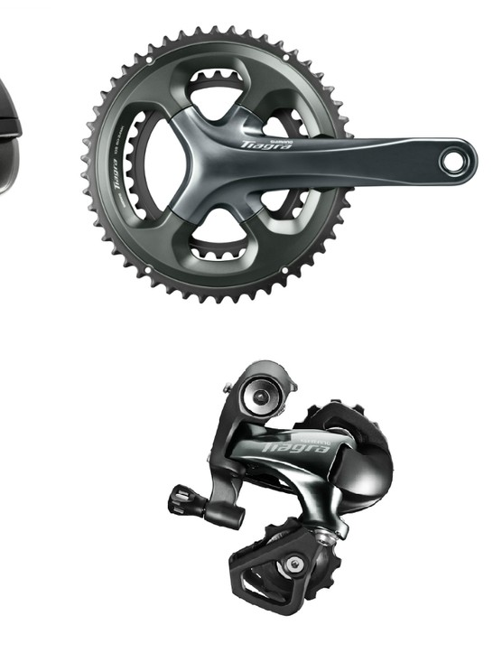 Shimano Tiagra 4700 borrows plenty of features from groups above