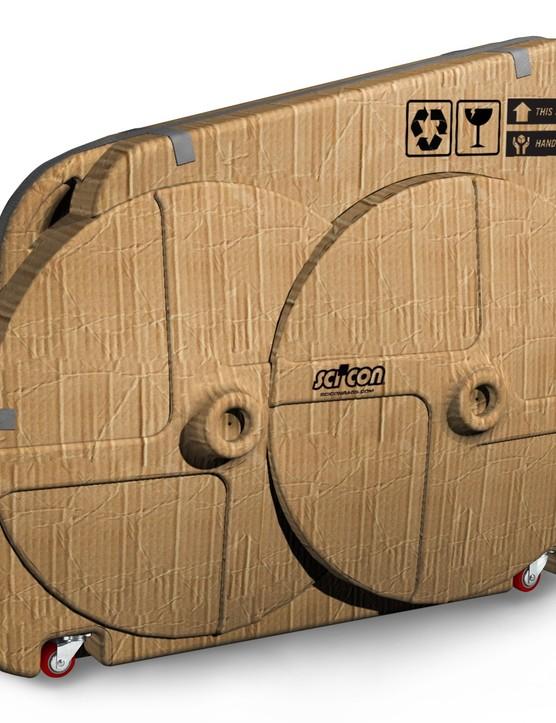 Scicon's cardboard flight case