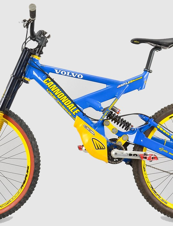 Modern downhill bike geometry is certainly dramatically different from what was used nearly 20 years ago