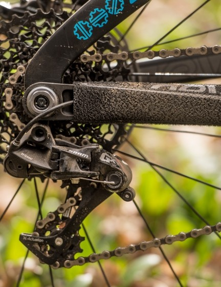 The GX cassette offers the same 10-42t range of XX1, X01 and X1