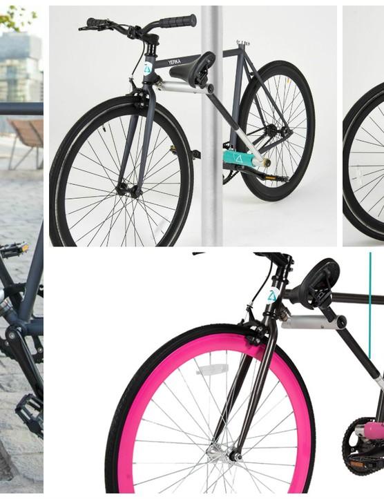 The Yerka bike is both bike and lock
