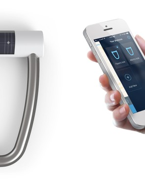 The Skylock is a solar powered bluetooth operated D-lock