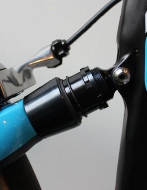 Elastomer suspension on the Pinarello Dogma K8-S