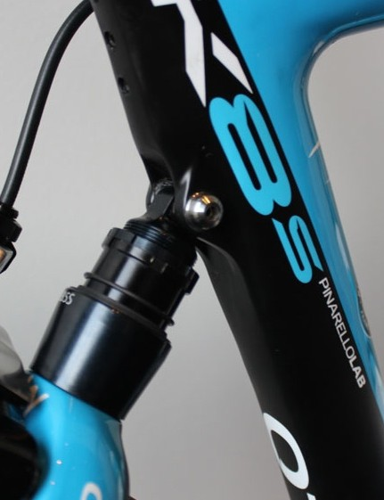 Elastomer suspension isn't new to road bikes, but it is new to Pinarello