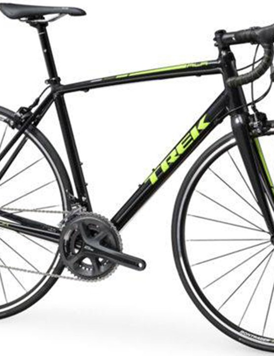 Claimed weight for the Trek Emonda ALR 5 is 8.51kg (18.76lb) - outstanding for an aluminum bike with Shimano 105 componentry