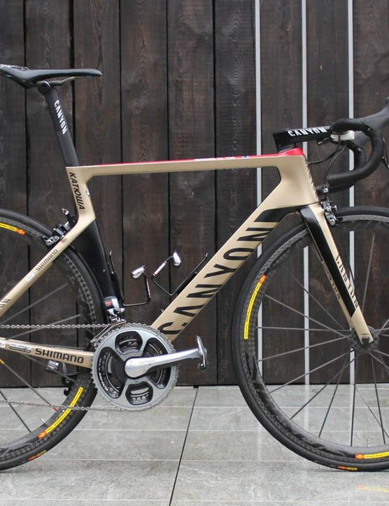 The Canyon Aeroad CF SLX debuted last year as the German brand's aero machine