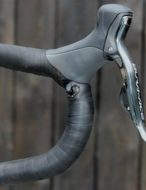 Shimano's so-called sprint shifter buttons are quite aptly named on this particular machine