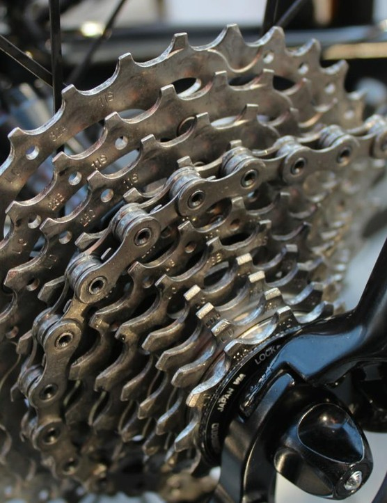 Bora-Argon 18 used enormous 11-32t cassettes at the Tour of Flanders