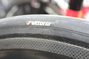 Bora-Argon 18 used 28mm Vittoria tubulars, and would go bigger for Paris-Roubaix, if their frames would allow it