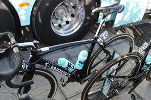 Matteo Trentin was Etixx's one man on the Roubaix at the cobbled race before Paris-Roubaix