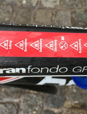 The BMC GranFondo GF01 is built for sportives, and De Ronde van Vlaandere is the grandaddy of them all