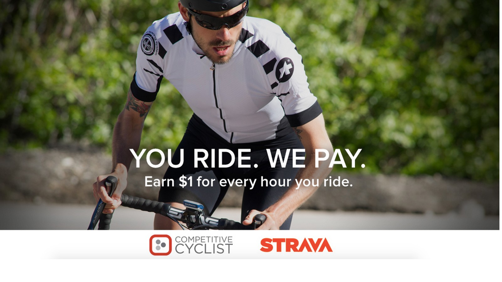 Strava and Competitive Cyclist have teamed up to give you store credit for logging hours on your bike
