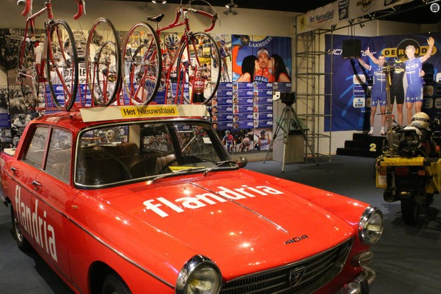 The Tour of Flanders Centre in Oudenaarde is packed with memorabilia from the 100-year-old cobbled classic