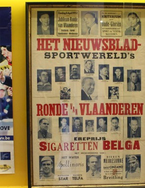Like many races, the Tour of Flanders was conceived as a newspaper promotion, and the event continues to generate media coverage today