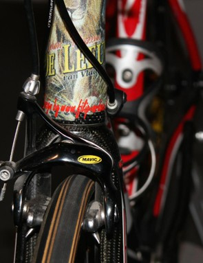 Mavic calipers were a bit of a flash in the pan. This set was on Johan Museeuw's 2004 Time bike