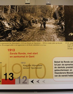 After being created in 1913, the race was soon disrupted by World War I
