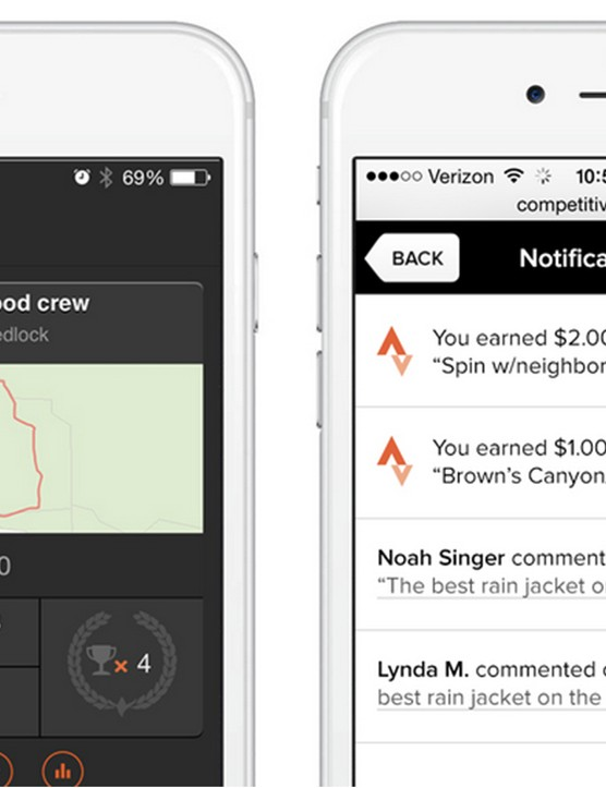 Riders must download and sync Stava with their Competitive Cyclist account