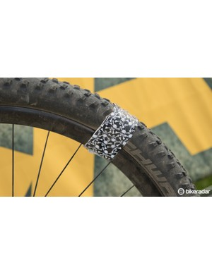 Riders are forced to get creative with repairs. Tubeless tyre plugs first saw use in the Cape Epic, and other fixes are commonly called upon too