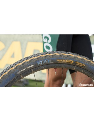 VeeRubber was testing new compounds at the Cape Epic