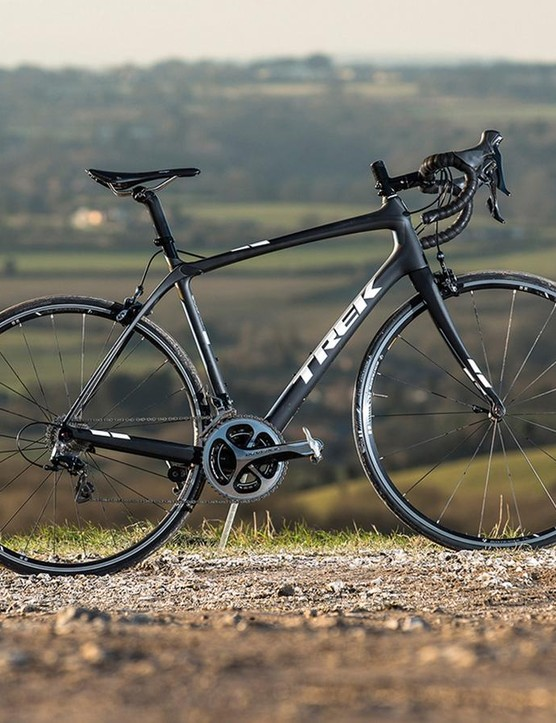 Trek's Domane 5.9 Dura-Ace never fails to make us smile – even after long hours in the saddle