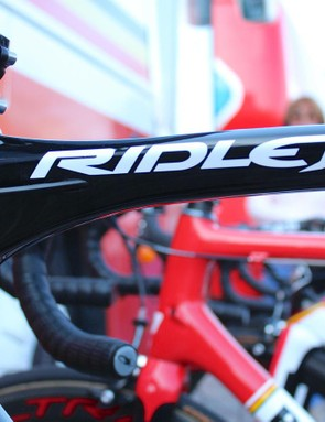 Lotto-Soudal is testing a Ridley Fenix prototype in Belgium