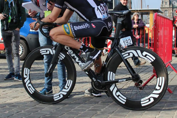 Deep wheels come out in force at the sprint-fest Scheldeprijs